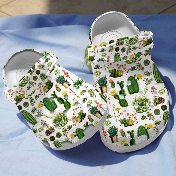 Cactus croc shoes crocband clog1