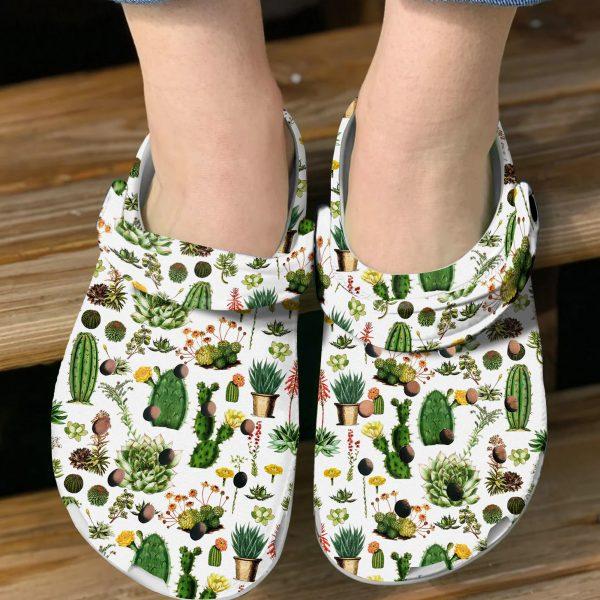 Cactus croc shoes crocband clog3