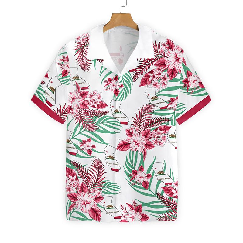 California Proud Proud Hawaiian Shirt
