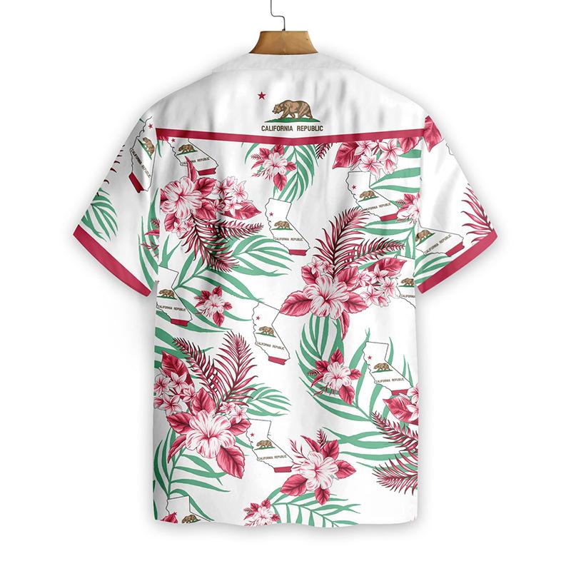 California Proud Proud Hawaiian Shirt1