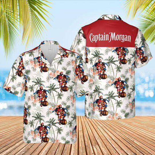Captian morgan Hawaiian Shirt