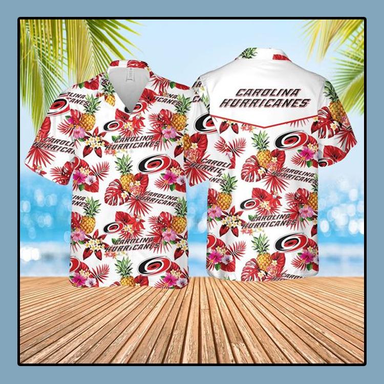 Carolina hurricanes Hawaiian Shirt and short1