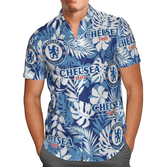 Chelsea 1905 Hawaiian Shirt1