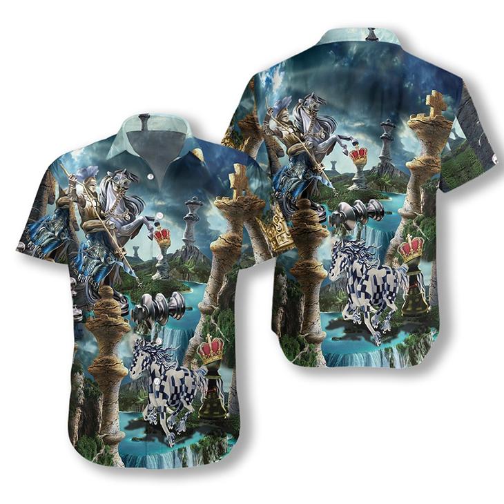 Chess Is My Life Hawaiian Shirt2