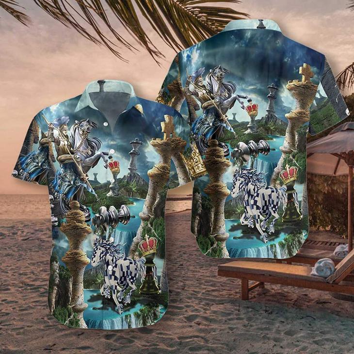 Chess Is My Life Hawaiian Shirt3