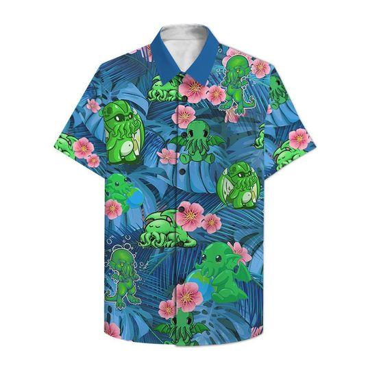 Chthulu Funny Hawaiian Shirt