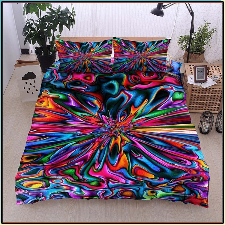 Colorful Hippie Lover Bedding Set1