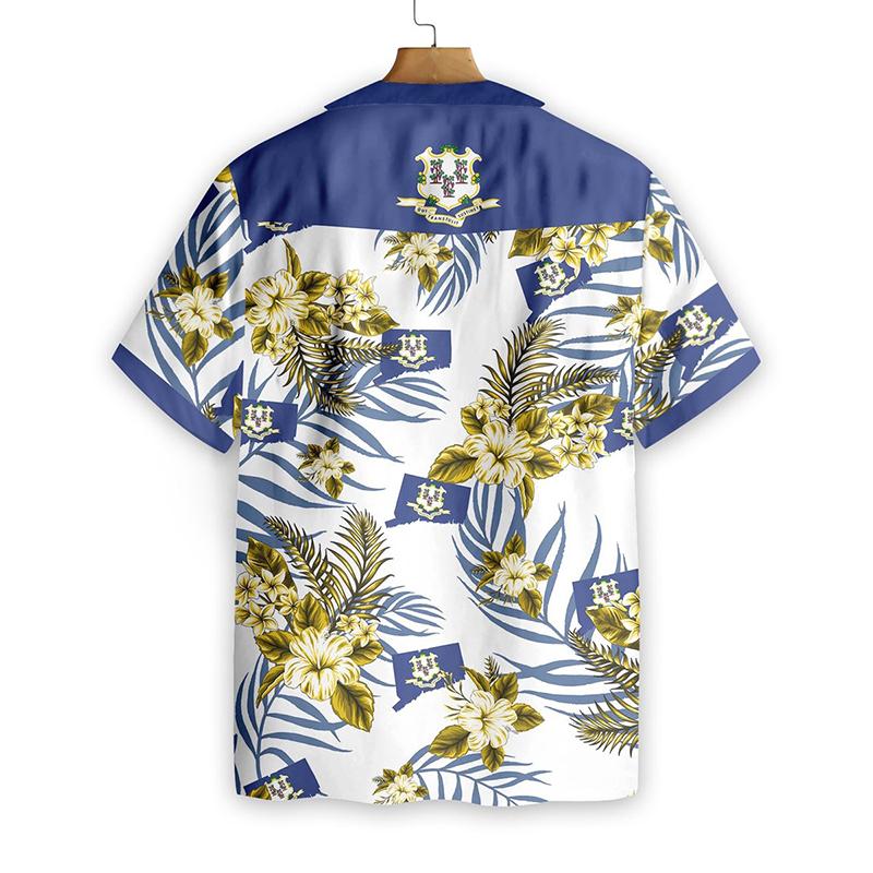 Connecticut Proud Hawaiian Shirt1
