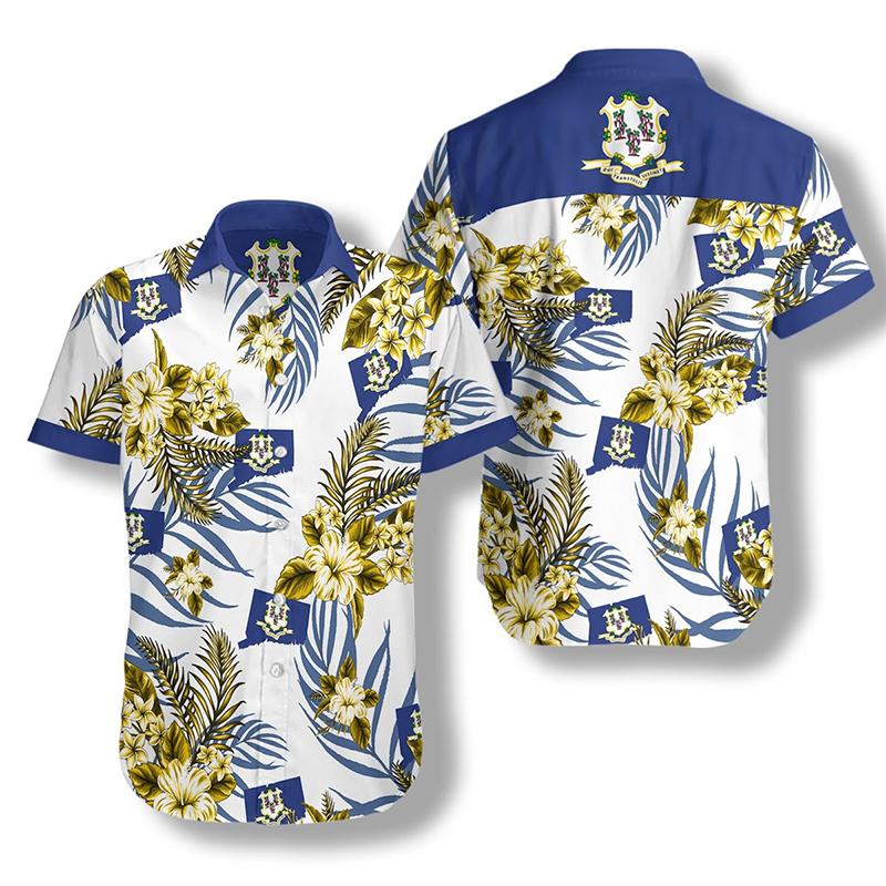 Connecticut Proud Hawaiian Shirt2