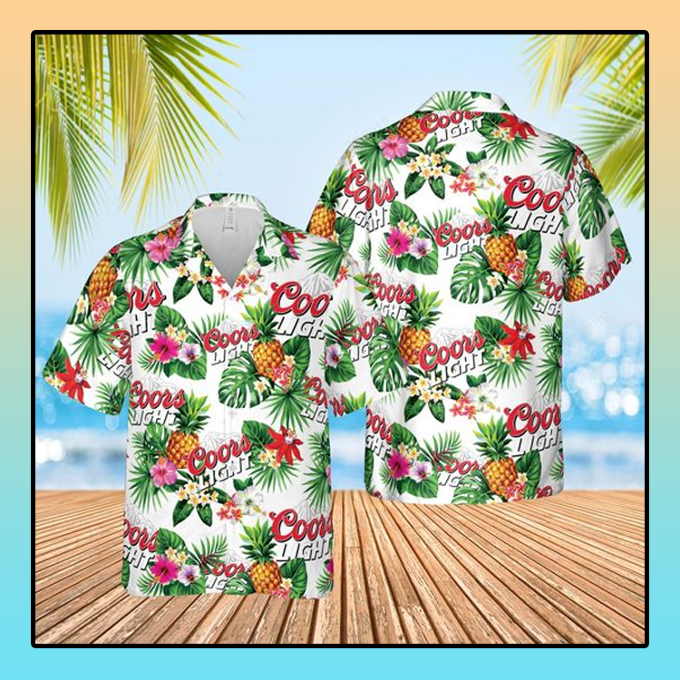 Coor lights Summer beach Hawaiian Shirt2