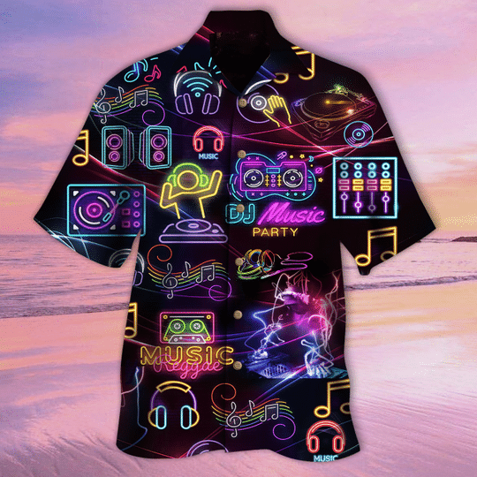 DJ non stop tonight hawaiian shirt
