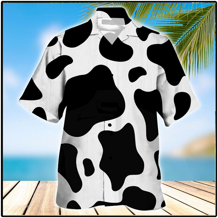 Dairy Catle Ocean Hawaiian Shirt2