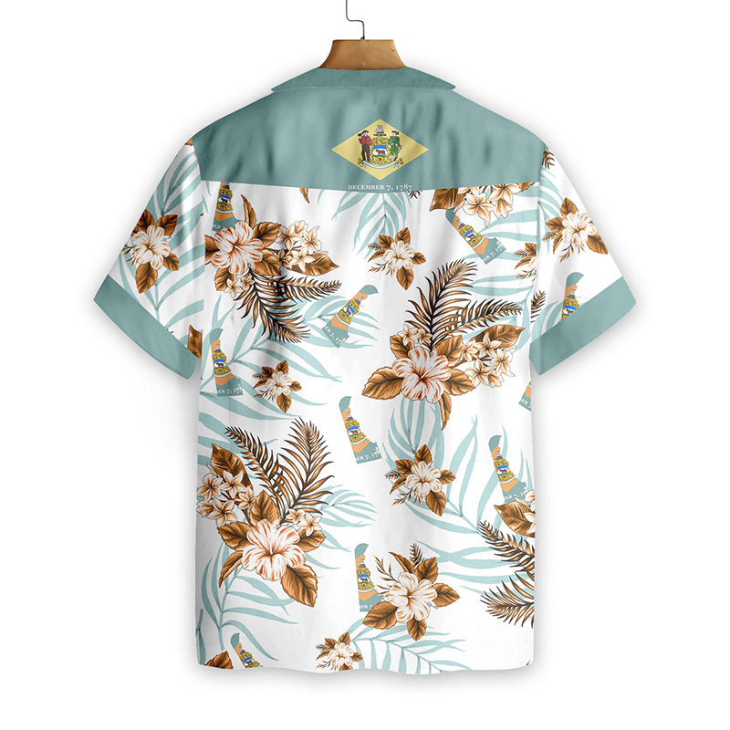 Delaware Proud Hawaiian Shirt1