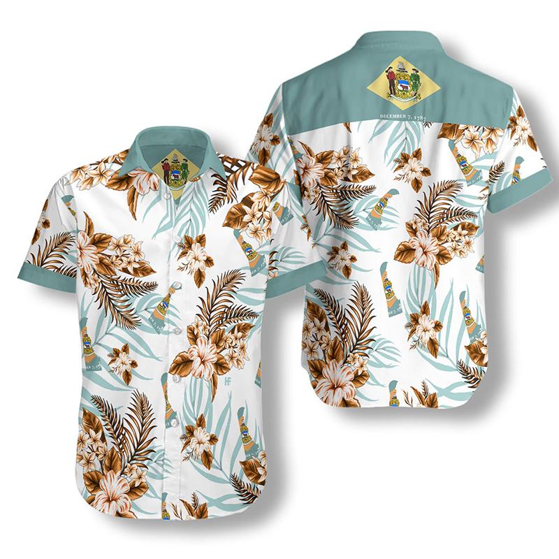 Delaware Proud Hawaiian Shirt2