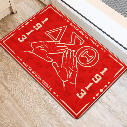 Delta Sigma Theta Sorority 1913 Doormat2