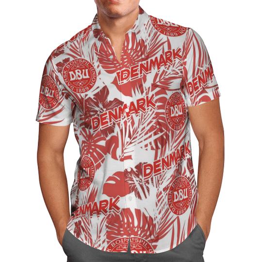 Denmark Hawaiian Shirt1