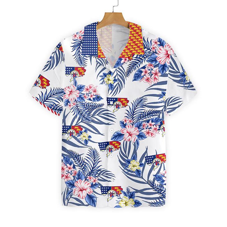 Detroit Proud Proud Hawaiian Shirt