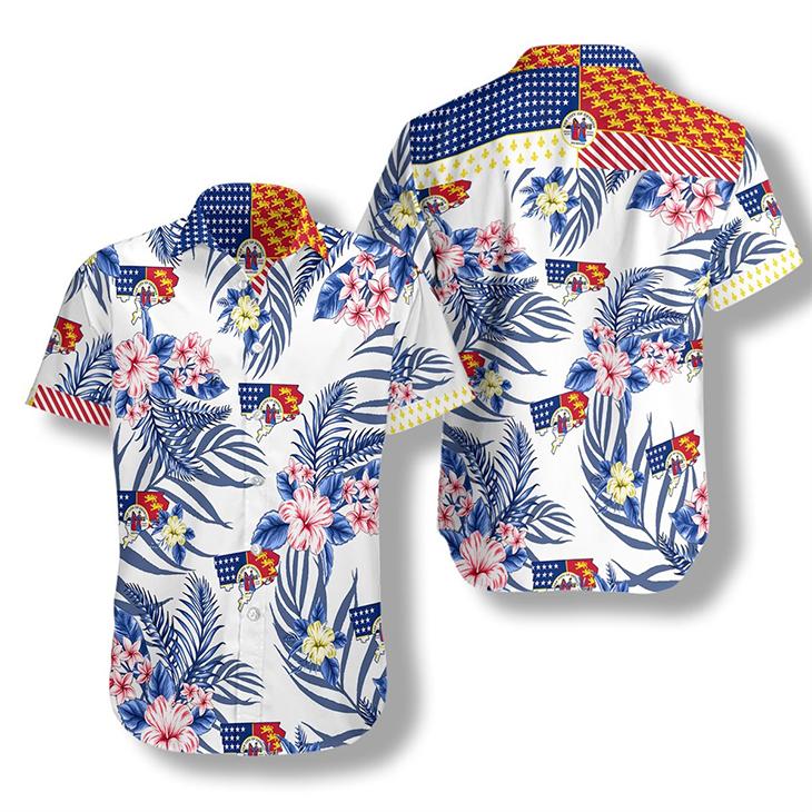 Detroit Proud Proud Hawaiian Shirt2