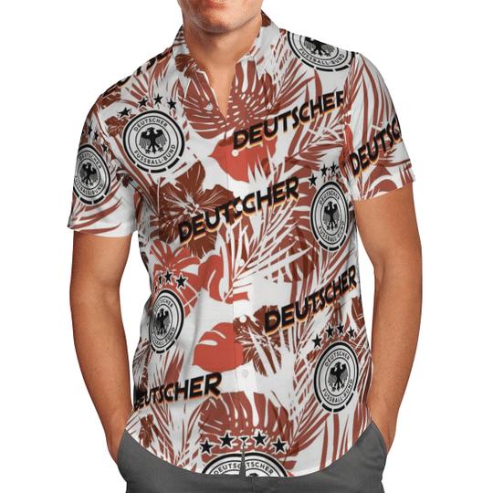 Deutscher Pussball Bund Hawaiian Shirt1