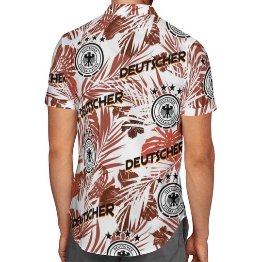 Deutscher Pussball Bund Hawaiian Shirt2