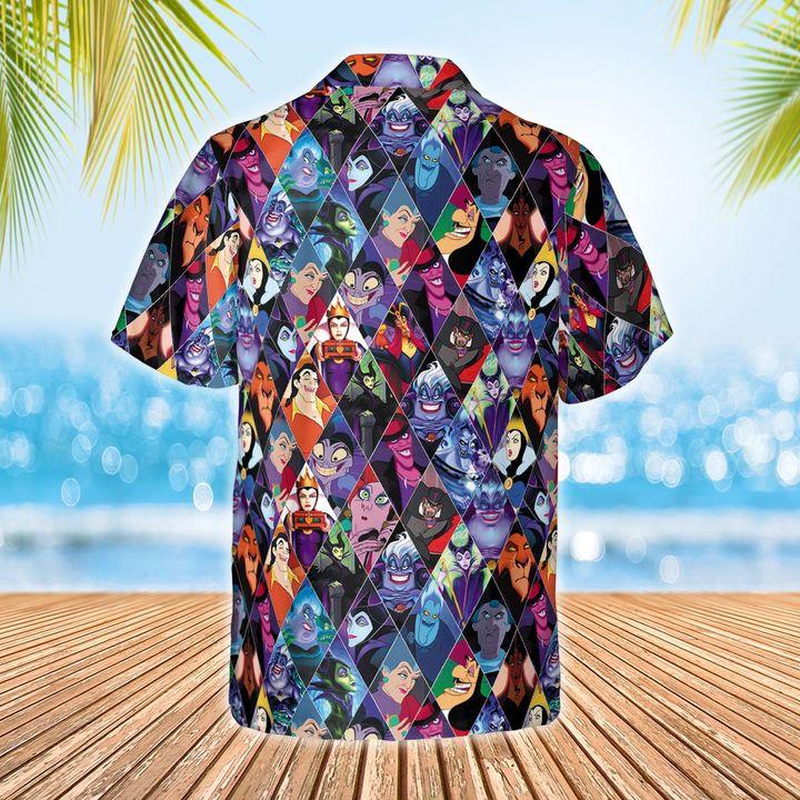 Disney Villains Hawaiian shirt3