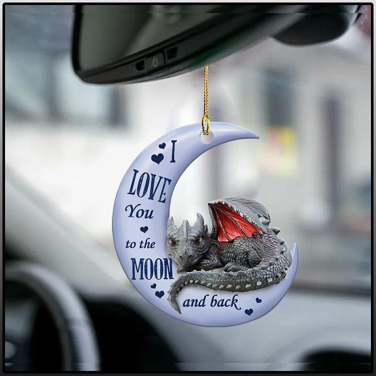 Dragon I Love You to the moon and back ornament1
