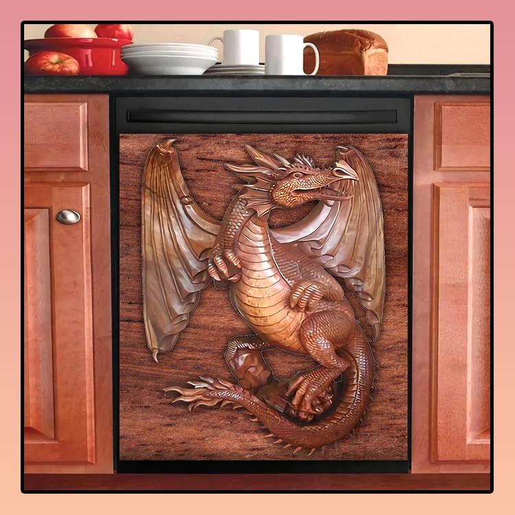 Dragon Kitchen dishwasher cover2