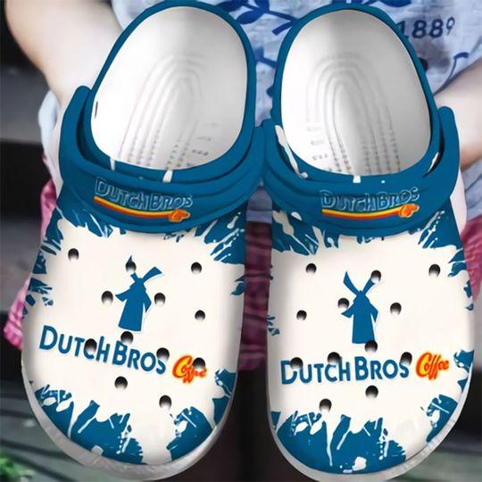 Dutch Bros Coffee Crocs Crocband Shoes