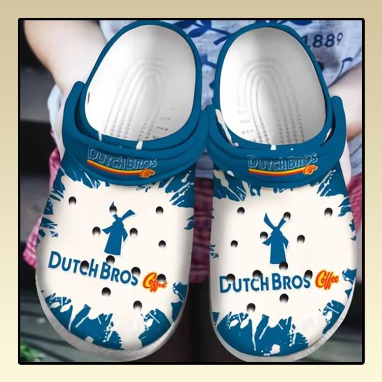 Dutch Bros Coffee Crocs Crocband Shoes2