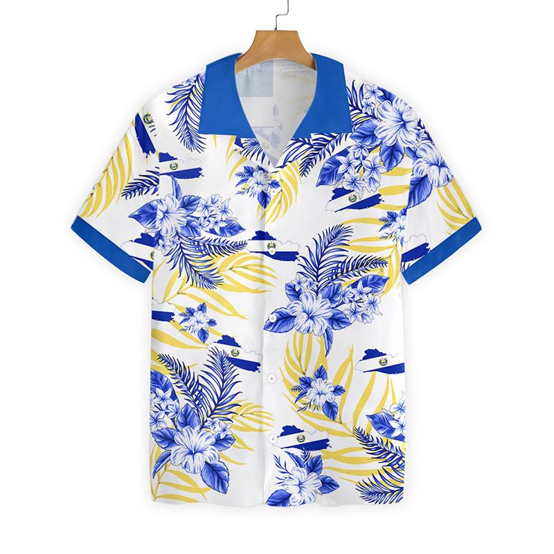 El Salvador Proud Hawaiian Shirt
