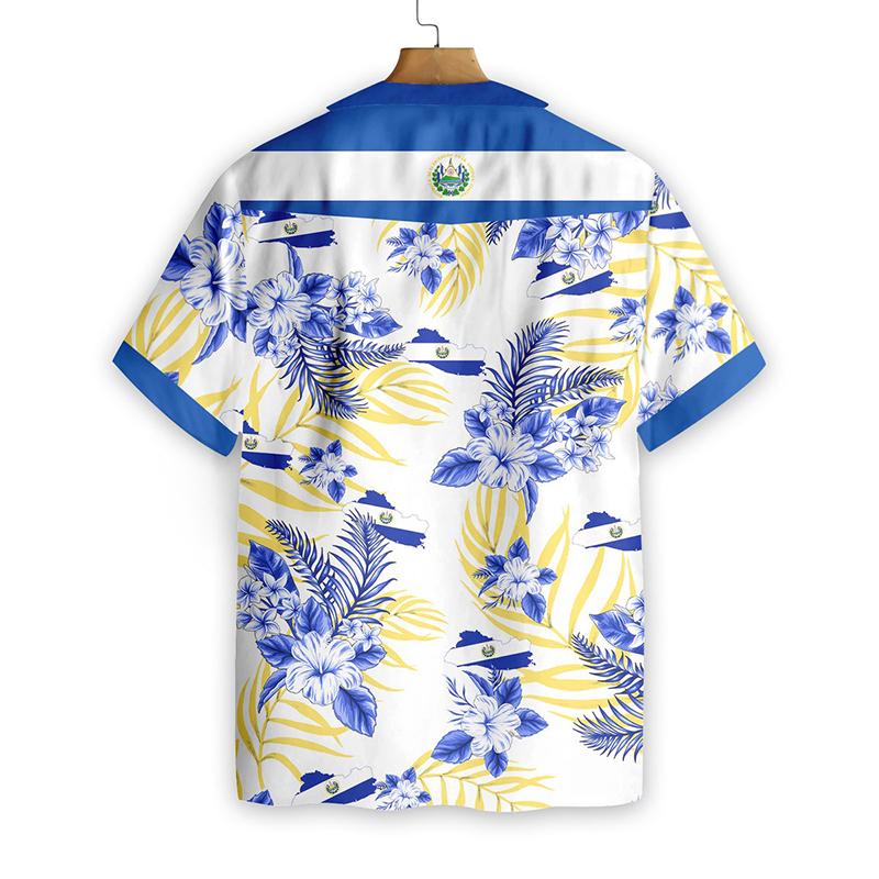 El Salvador Proud Hawaiian Shirt1