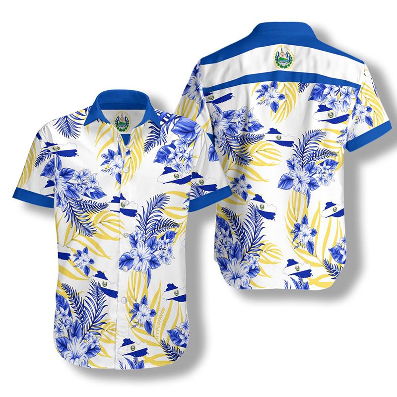 El Salvador Proud Hawaiian Shirt2