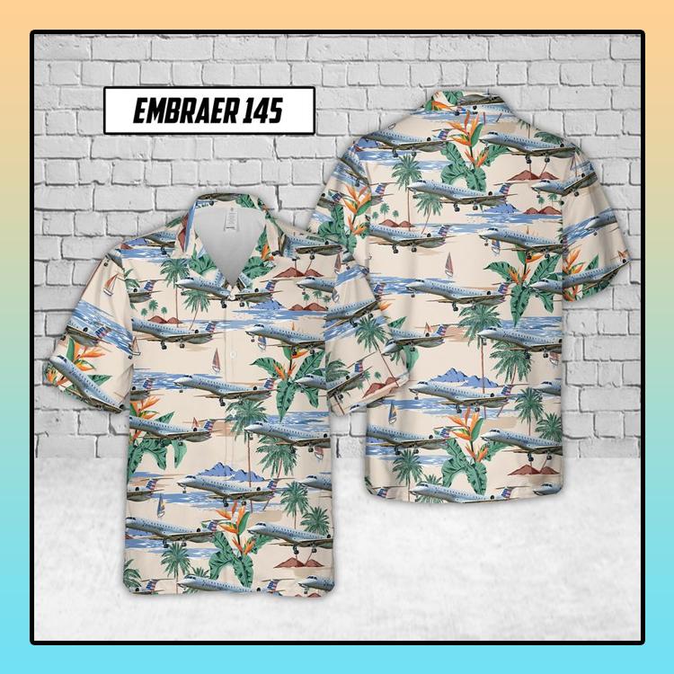 Embraer 145 Envoy Air Hawaiian Shirt3 1