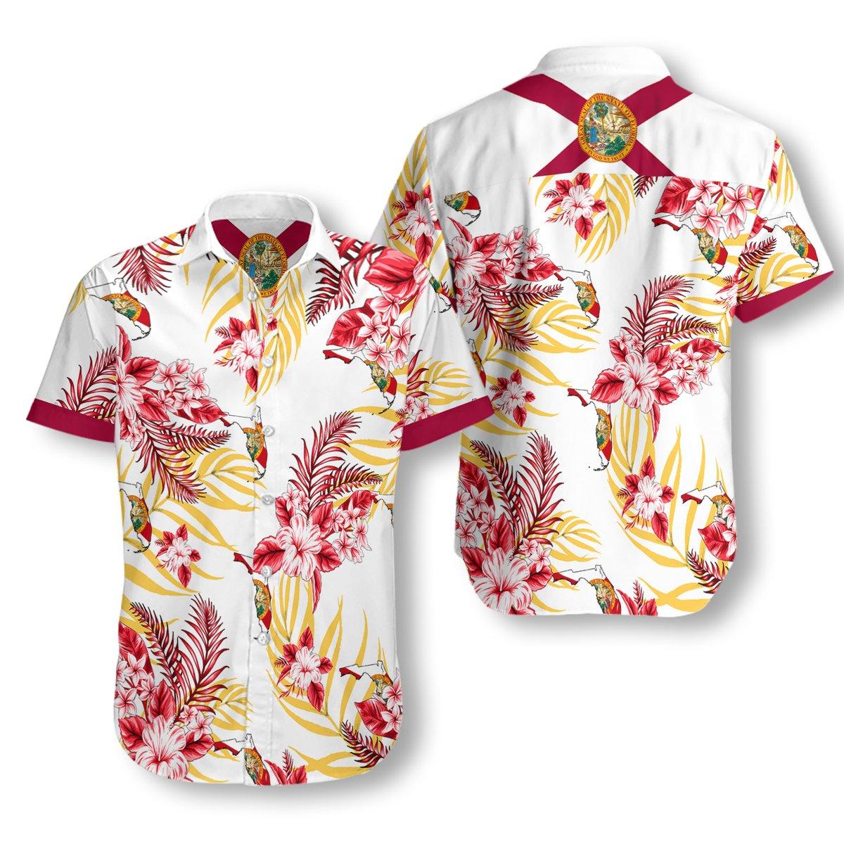 Florida Proud Hawaiian Shirt2
