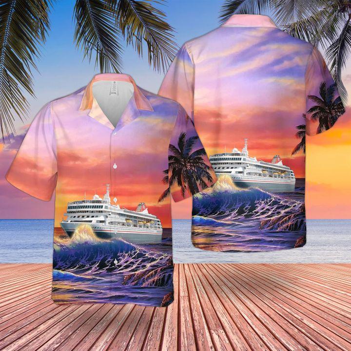 Fred olsen cruise lines MS braemar hawaiian