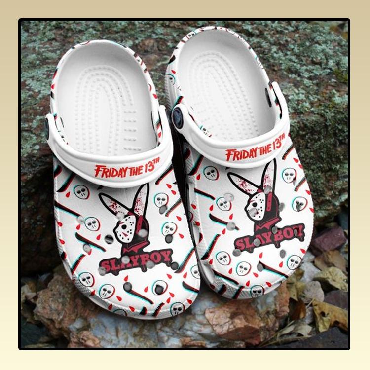 Friday the 13th Slayboy crocs log crocband2