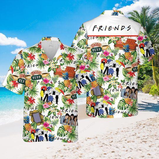 Friends TV show central perk Hawaiian Shirt