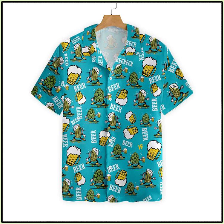 Funny Beer Hawaiian Shirt2