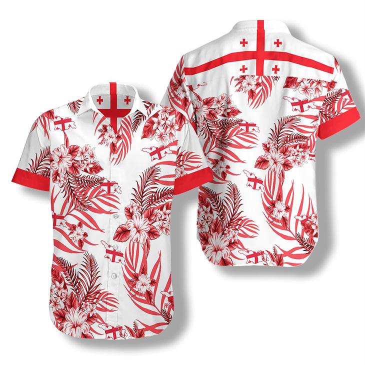 Georgia Proud Hawaiian Shirt 2 1