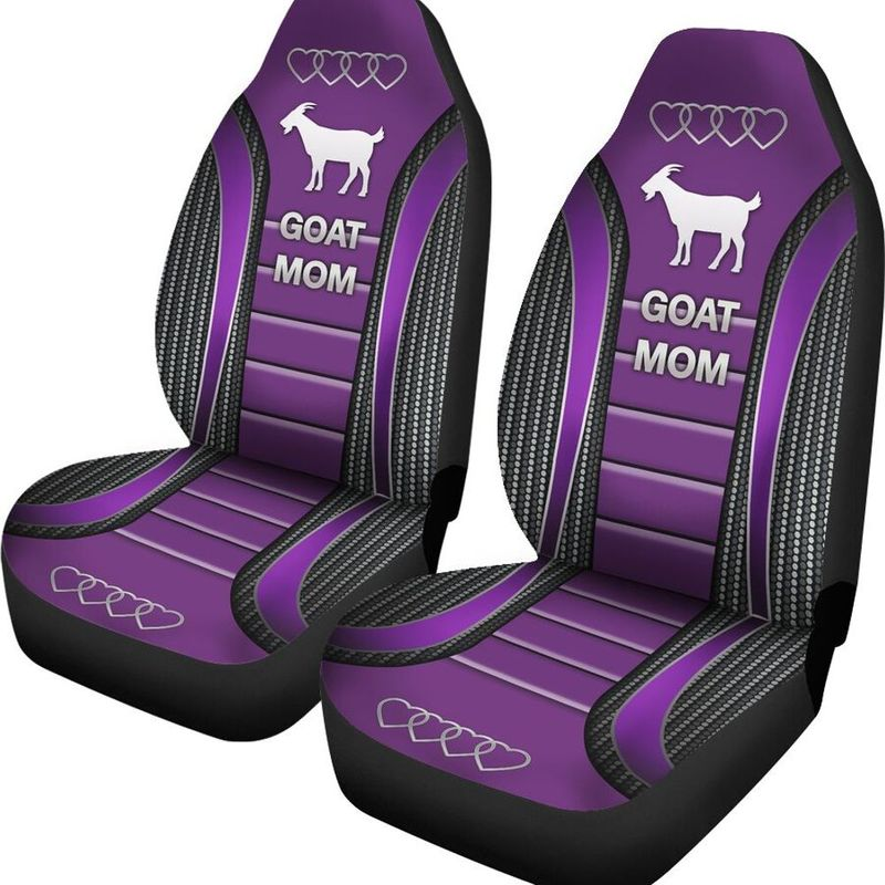 Goat Mom Seat Cover2