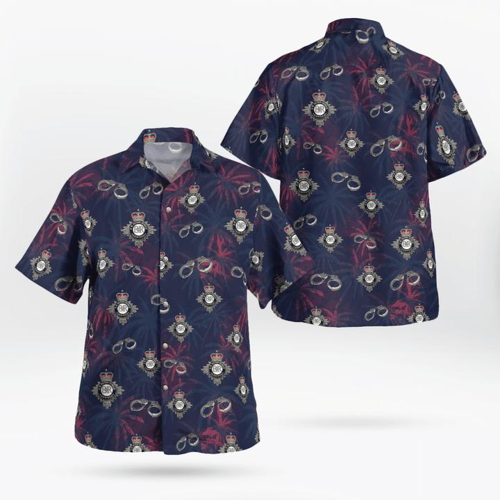 HM Prison Service Hawaiian shirt