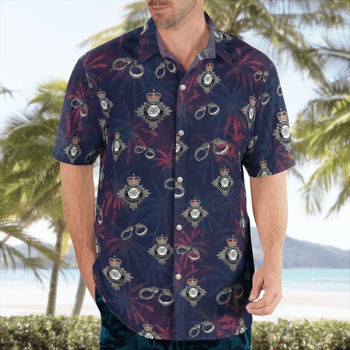 HM Prison Service Hawaiian shirt1