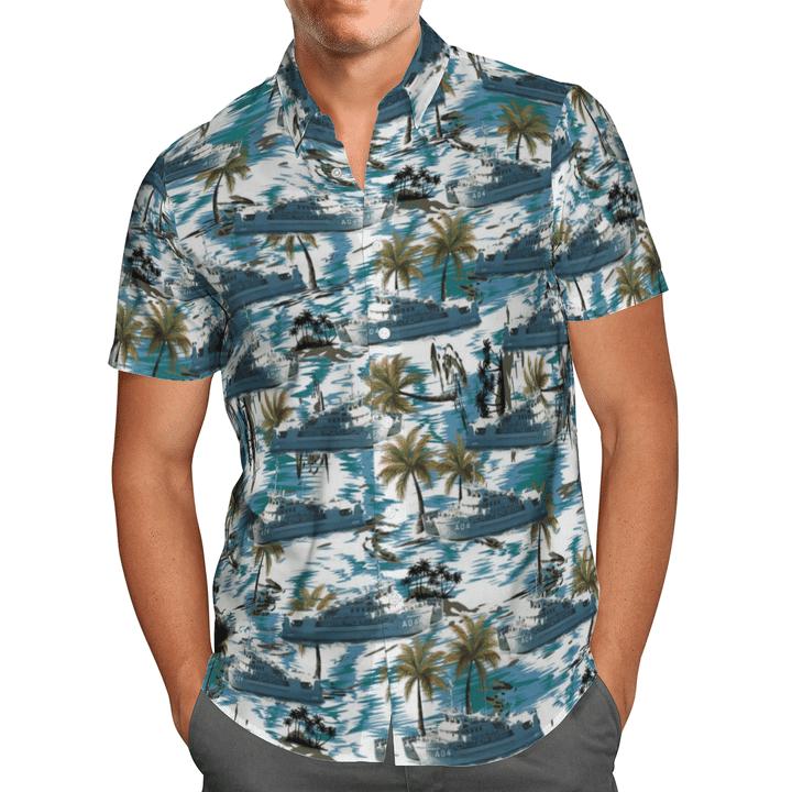 HMAS Benlla A 04 Australian Navy Hawaiian Shirt And Short