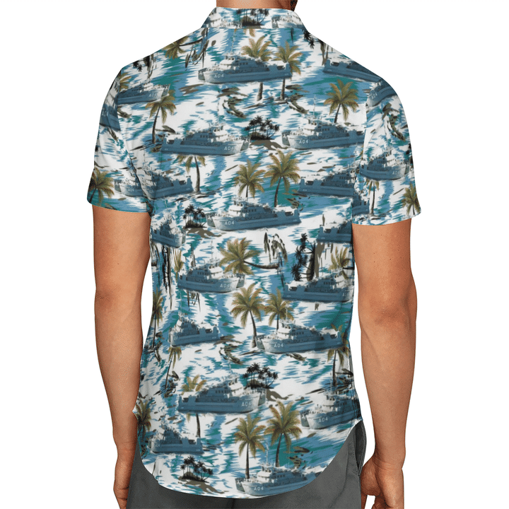HMAS Benlla A 04 Australian Navy Hawaiian Shirt And Short2