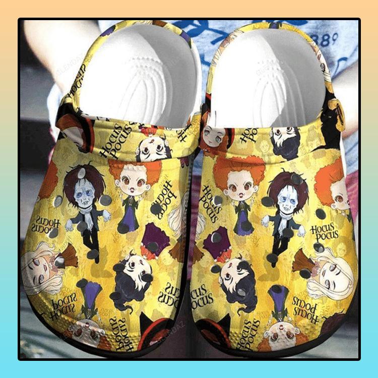 Hocus Pocus Crocs Shoes Crocband 4