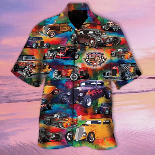 Hot rod Is awesome anyway hawaiian shirt