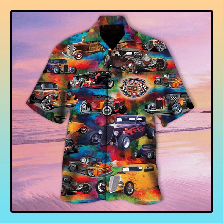 Hot rod Is awesome anyway hawaiian shirt4