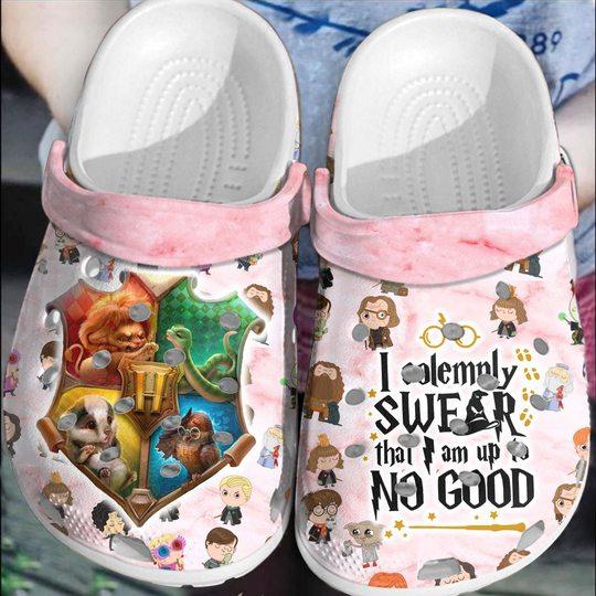 I solemnly swear that I am up no good Crocs Crocband Shoes
