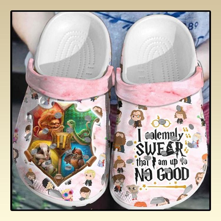 I solemnly swear that I am up no good Crocs Crocband Shoes2