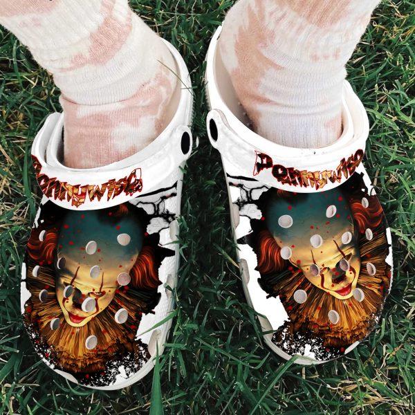 IT pennywise Crocs Crocband crocshoes
